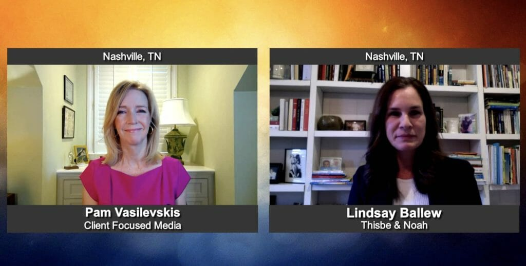 """""""Making a Difference"""" with Lindsay Ballew from Thisbe & Noah"""