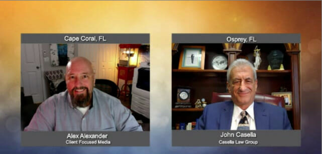 """""""Ask the Attorney"""" with John Casella from the Casella Law Group"""