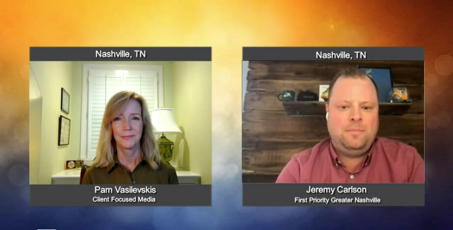 """""""Making a Difference"""" with Jeremy Carlson from First Priority Greater Nashville"""