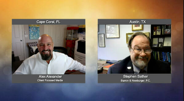 """""""Ask the Attorney """" with Stephen Sather from Barron & Newburger, PC"""