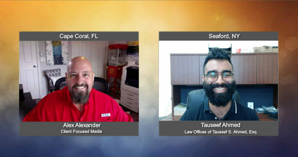 """""""Ask the Attorney"""" with Tauseef Ahmed with the Law Offices of Tauseef Ahmed Esq"""