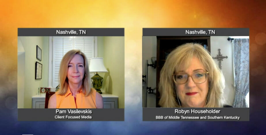 """""""Making a Difference"""" with Robyn Householder from the BBB of Middle Tennessee and Southern Kentucky"""