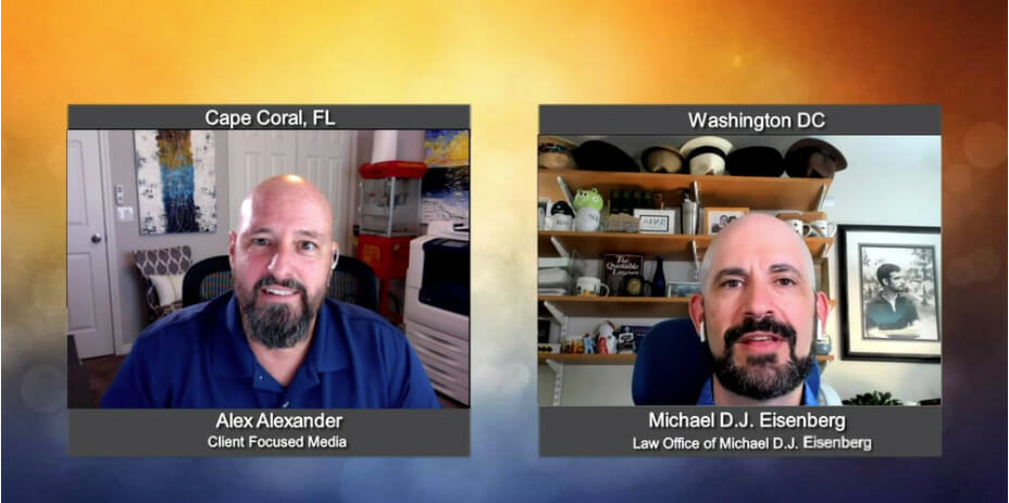 """""""Ask the Attorney"""" with Michael DJ Eisenberg from the Law Offices of Michael DJ Eisenberg"""
