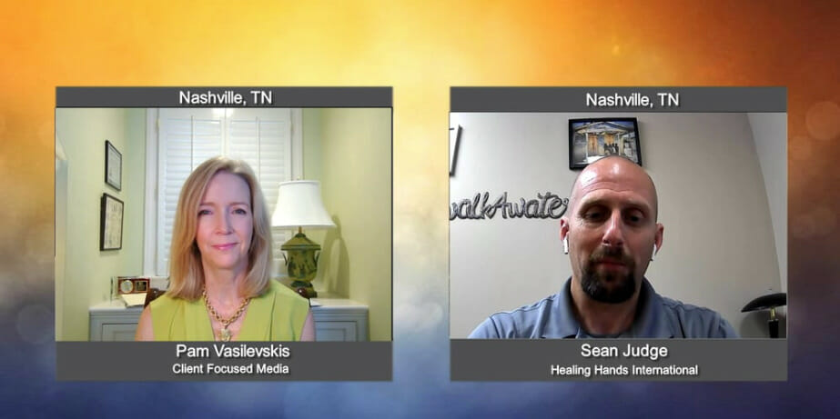 """""""Making a Difference"""" with  Sean Judge from Healing Hands International"""