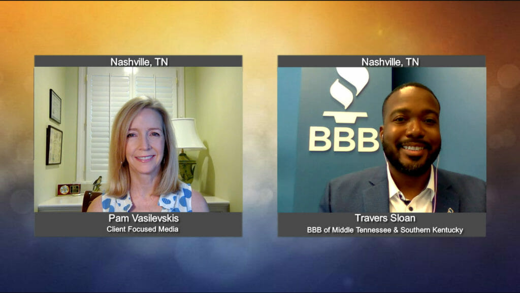"""""""Making a Difference"""" with Travers Sloan from the BBB of Middle Tennessee & Southern Kentucky"""