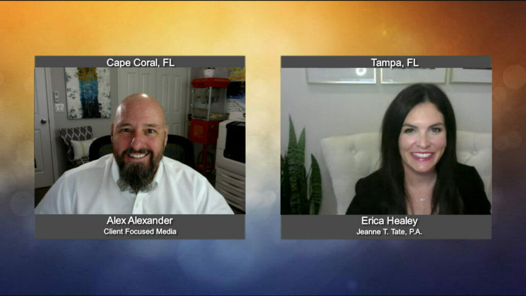 """""""Ask the Attorney"""" with Erica Healey with Jeanne T. Tate, P.A."""