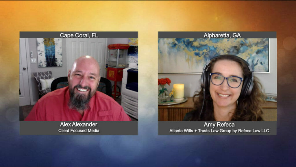 """""""Ask the Attorney"""" with Amy Refeca from Atlanta Wills + Trust Law Group by Refeca Law LLC"""