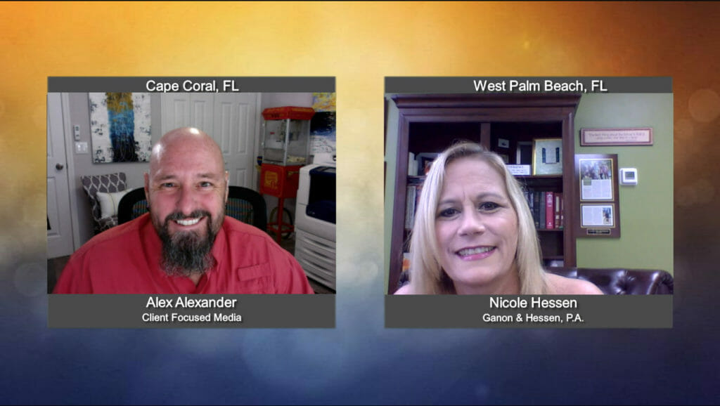 """""""Ask the Attorney"""" with Nicole Hessen from Ganon & Hessen, P.A."""
