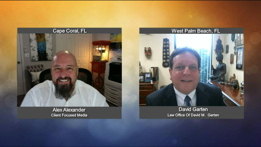 """""""Ask the Attorney"""" with David Garten from the Law Office of David M. Garten"""