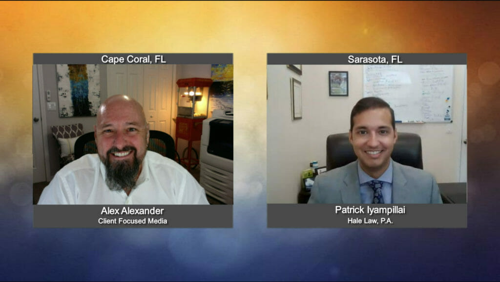 """""""Ask the Attorney"""" with Patrick Iyampillai from Hale Law, P.A."""