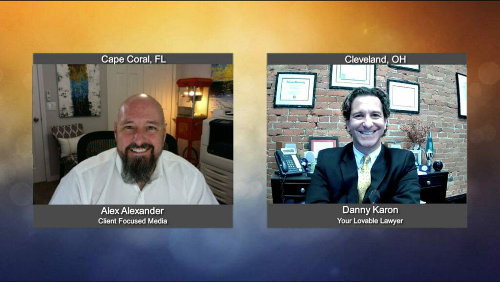 """""""Ask the Attorney"""" with Danny Karon, Your Lovable Lawyer"""