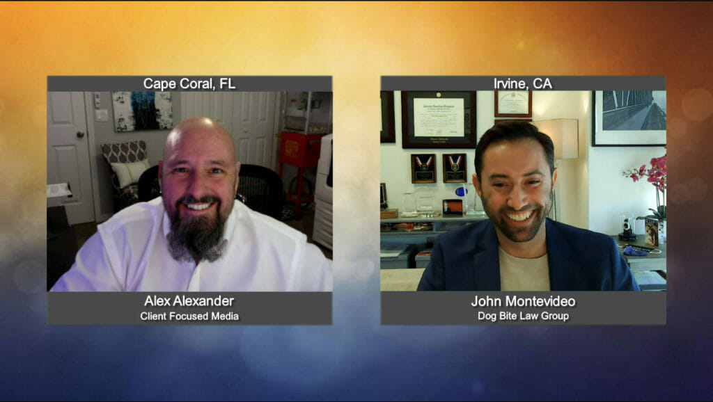 """""""Ask the Attorney"""" with John Montevideo from Dog Bite Law Group"""