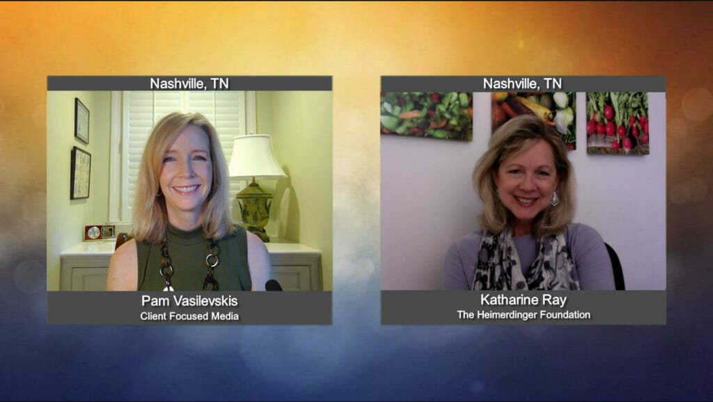 """""""Making a Difference"""" with Katharine Ray from The Heimerdinger Foundation"""